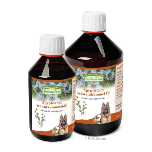 PerNaturam - Ägyptisches Schwarzkümmel-Öl Dog