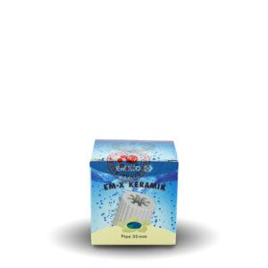 EM-X® Keramik Pipe grau, 35 mm