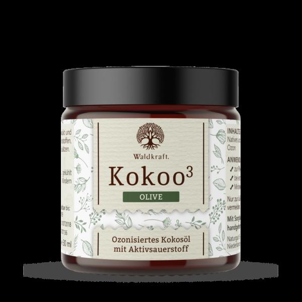 Waldkraft Kokoo³ Olive - Ozonisiertes Kokos- und Olivenöl