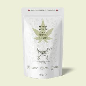 Waldkraft CBD-Hanfblütenkekse für mittelgroße Hunde