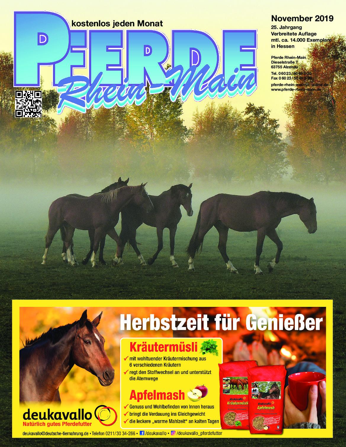 Wasser - das Lebenselixier - Pferde Rhein-Main