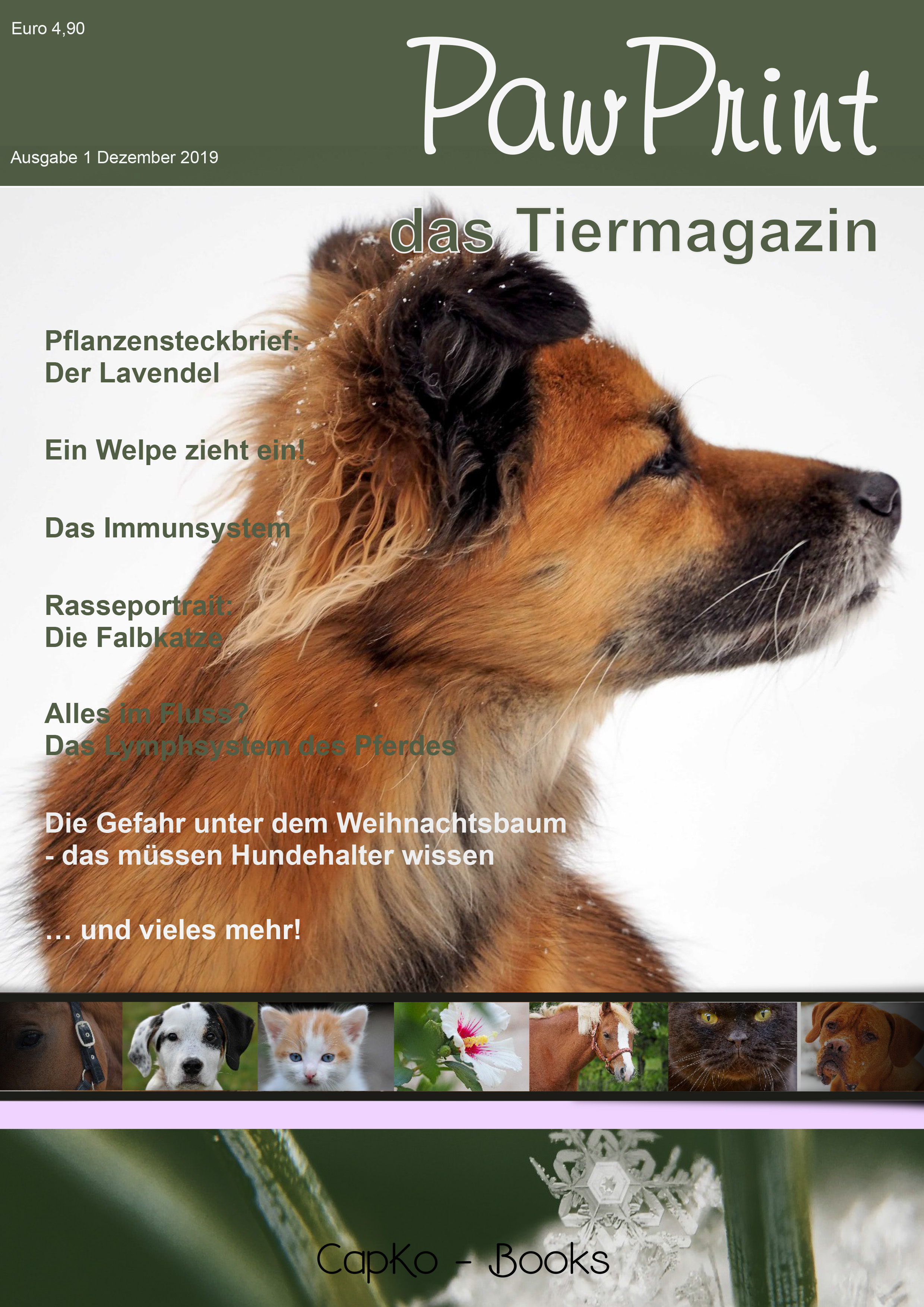 PawPrint - das neue Tiermagazin